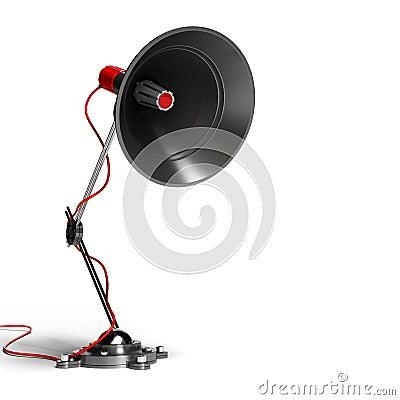 Megaphone sound and communication concept