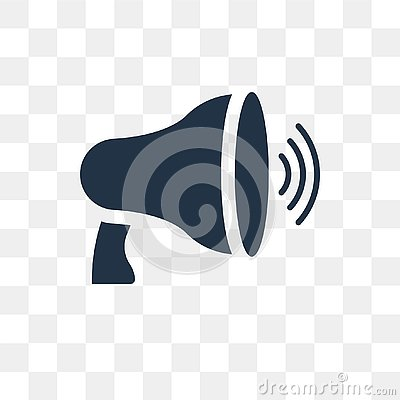 Free Megaphone Vector Icon Isolated On Transparent Background, Megaphone Transparency Concept Can Be Used Web And Mobile Stock Photos - 127338643