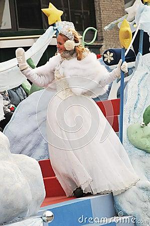 Meggie Lagacé as the Star Fairy Editorial Stock Image