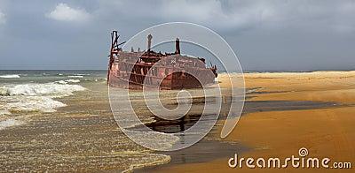 Meheno shipwreck