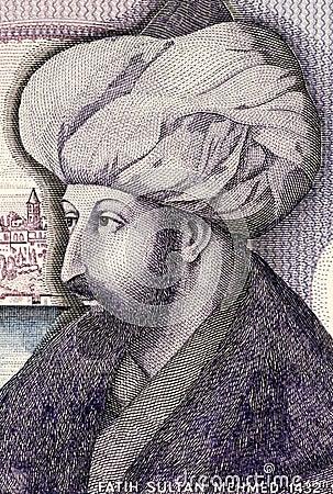 Mehmed the Conqueror Editorial Image