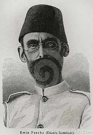 Mehmed Emin Pasha Editorial Stock Photo