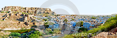 Jodhpur the Blue City, Rajasthan India