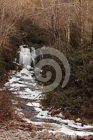 Free Meigs Falls On Little River In Great Smoky Mountains Stock Images - 36676094