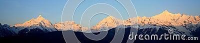 Meili snow mountain (Prince Snow Mountain)