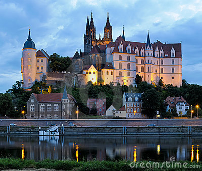 Meissen at dawn