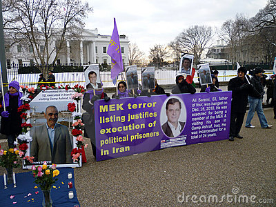 MEK Terror Listing Editorial Photography