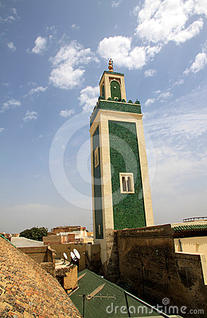Meknes minaret