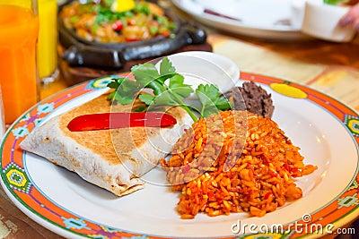 Meksykańscy burritos