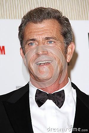 Mel Gibson,  Editorial Stock Image