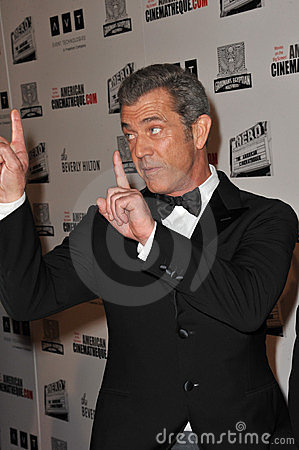 Mel Gibson Editorial Stock Image