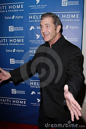 Mel Gibson Editorial Stock Photo