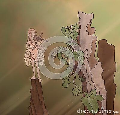 Melancholy fairy