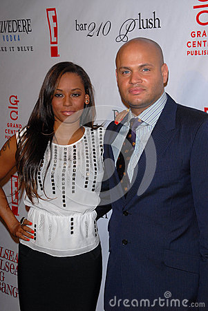 Melanie Brown,Stephen Belafonte Editorial Stock Photo