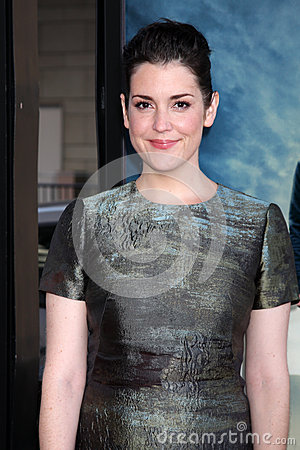 Melanie Lynskey arrives at the  Editorial Photo