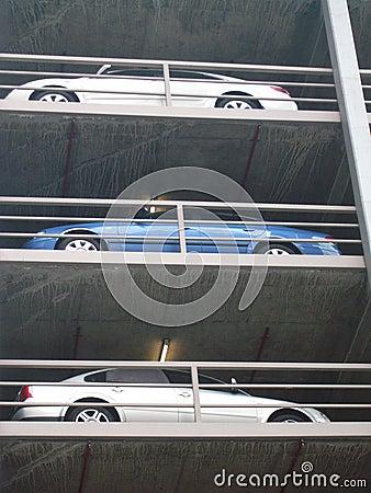 Melbourne Carpark Scene