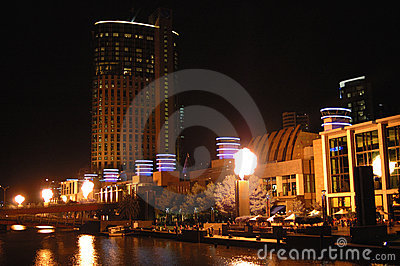 Melbourne city at night (III)