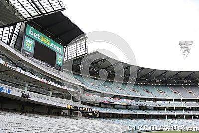 Melbourne Cricket Ground Editorial Image