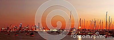Melbourne at Dawn