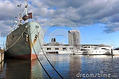 Melbourne Docklands Editorial Photo
