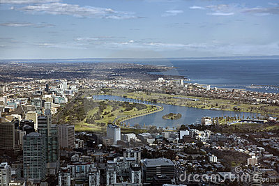 Melbourne s F1 GP Circuit