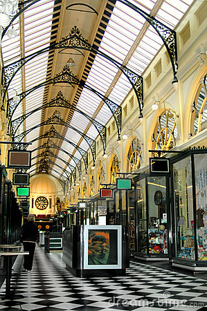 Free Melbourne Shopping Arcade Royalty Free Stock Images - 2539709