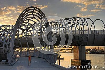 Melbourne - Webb Bridge