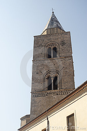 Melfi (Italy) - Cathedral: Belfry Stock Photo - Image: 20580180