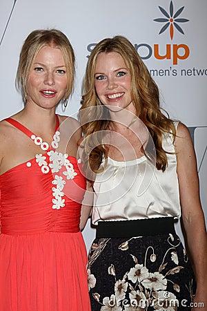 Melissa Sagemiller, Sarah Jane Morris Editorial Stock Photo