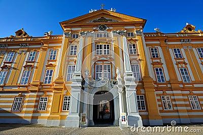 Melk Abbey - Austria Editorial Stock Photo