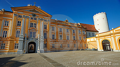 Melk Abbey -Austria Editorial Stock Photo