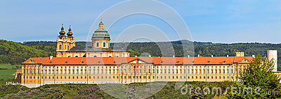 Melk Panorama - Famous Baroque Abbey