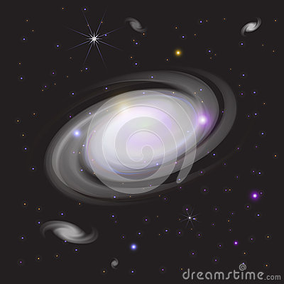 Melkweg in Ruimte