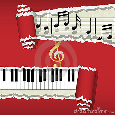 Melody-Piano-Music notes