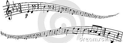 Melody strip