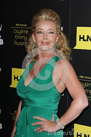 Melody Thomas Scott at the 39th Annual Daytime Emmy Awards, Beverly Hilton, Beverly Hills, CA 06-23-12 Editorial Stock Image