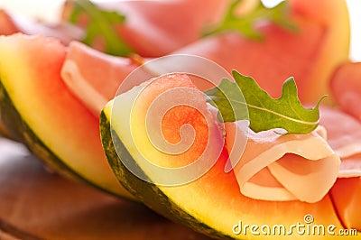 Melon & Ham Appetizer