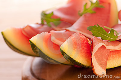 Melon With Parma Ham