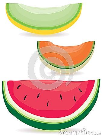 Melon slice variety