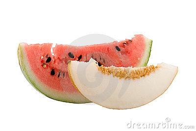 Melon and water-melon