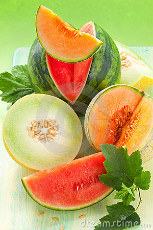 Free Melons And Watermelon Royalty Free Stock Images - 20162779