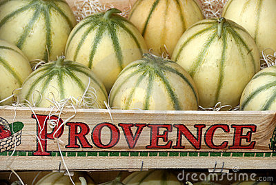 Melons from France