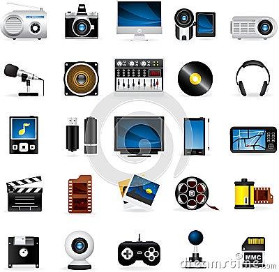 Meloti Icon Series - Multimedia