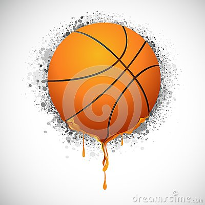 Melting Basketball