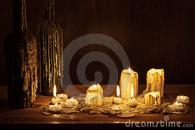 Melting wax candles – abdz