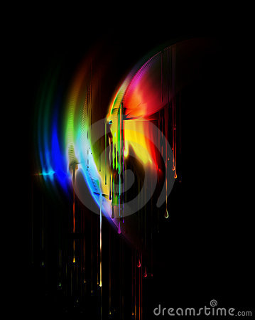 colors of rainbow. COLORS, DRIPPING RAINBOW