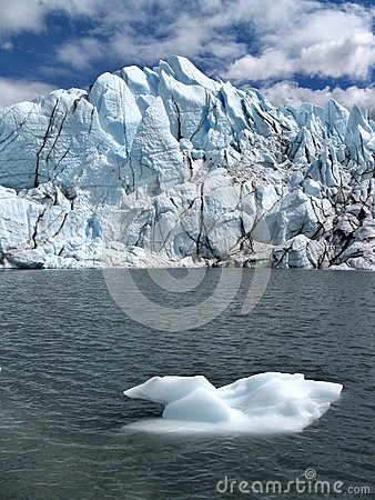 Melting of glacier