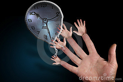 Melting Hands of Time