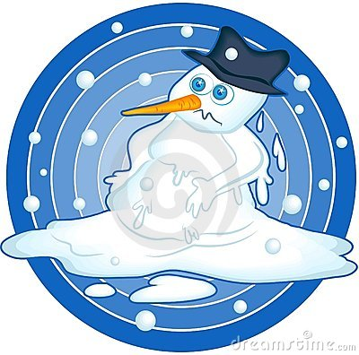 melting snowman clipart | Hostted
