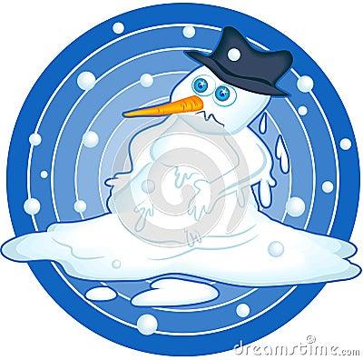 Snowman Puddle Clipart Melting-snowman-43430.jpg